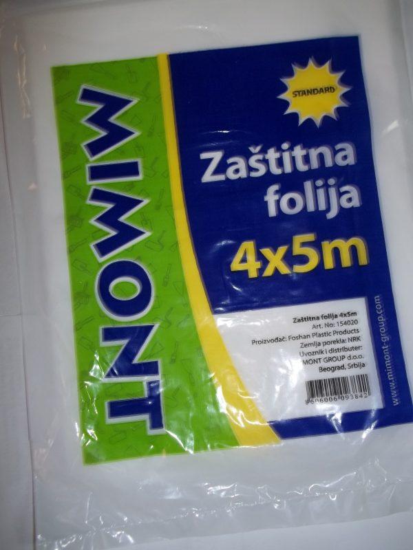 ZAŠTITNA FOLIJA 4X5